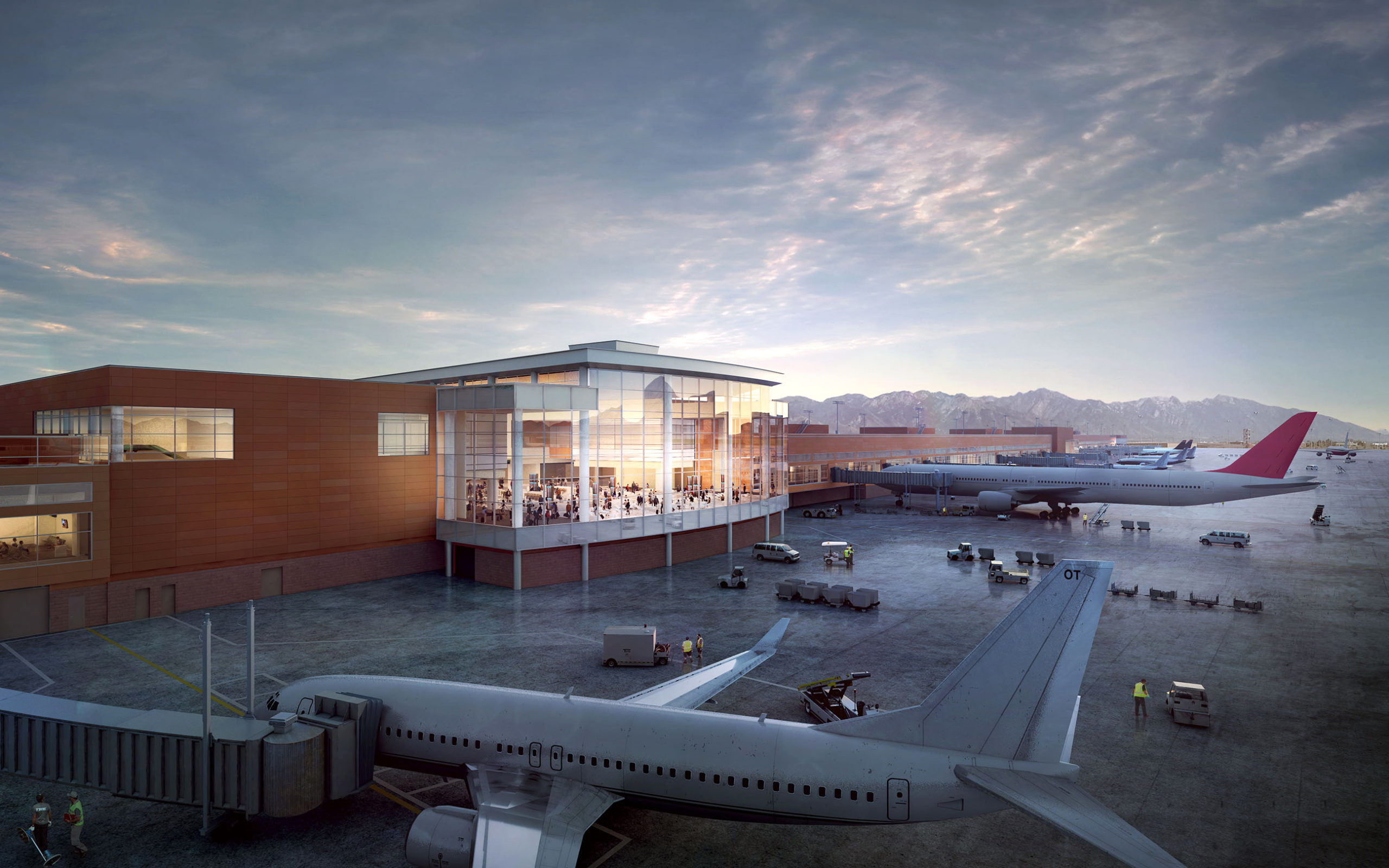 New SLC Airport