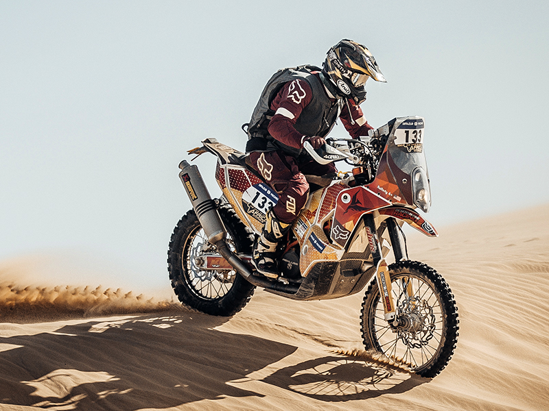 Nathan Rafferty Dakar