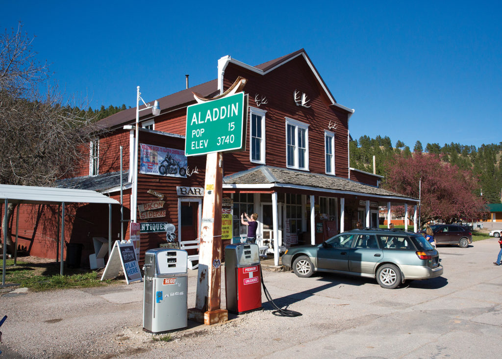 Aladdin General Store, Crook County, Wyoming, road trip, travel