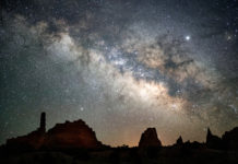 Kodachrome Basin is a dark sky park in Cannonville