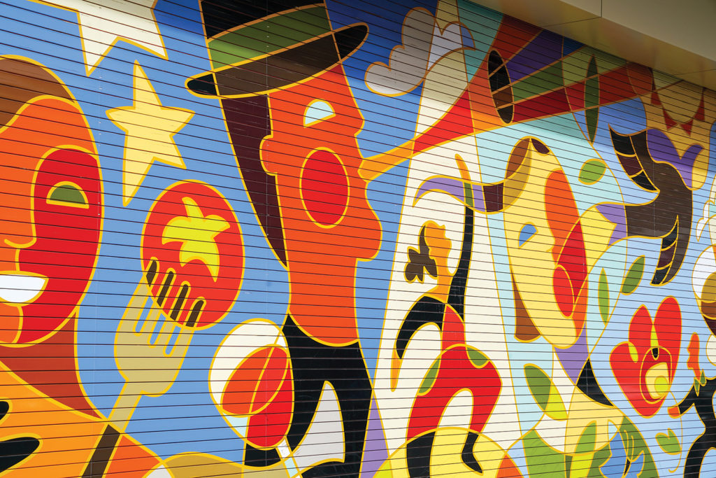 Eccles Theater Mural, Traci O'Very Covey, SLC