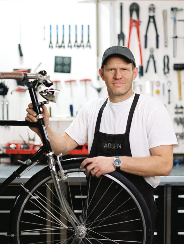 Jared Madsen, co-founder of Madsen Cycles