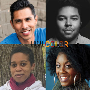 Tito Livas, Chris Curlett, Dee-Dee Darby-Duffin and Tatiana Christian, playwrights in Local Color