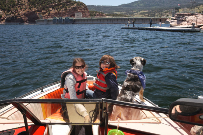 Boating on flaming forge photo courtesy Try river rafting without dad on the Green River this Father's Day (photo Utah Office of Tourism)