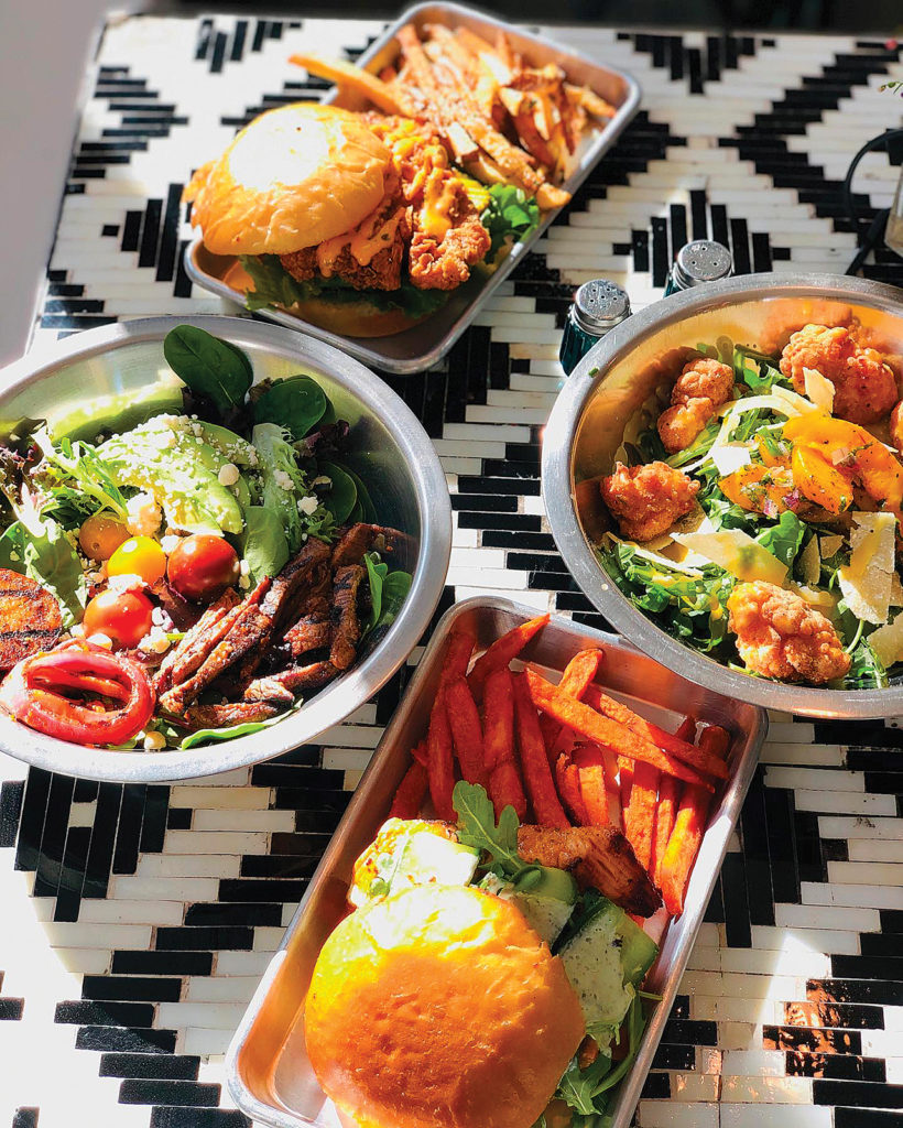 A sampling of dishes from Lola's, one of our picks for where to eat in Midway