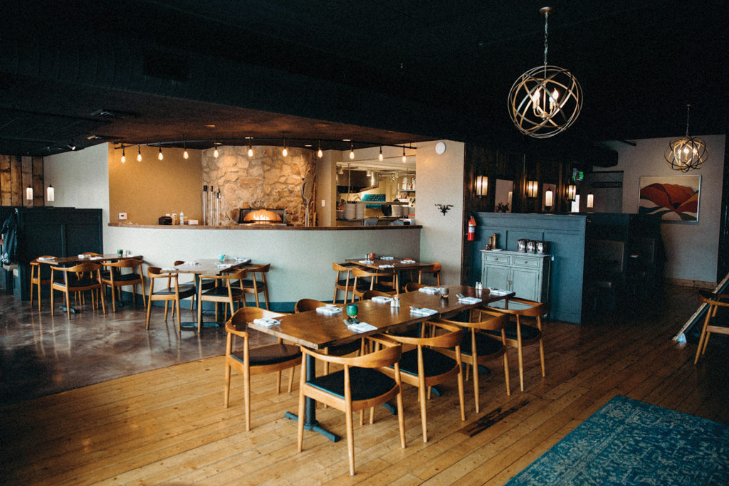 The interior of Midway Mercantile, one of our picks for where to eat in Midway