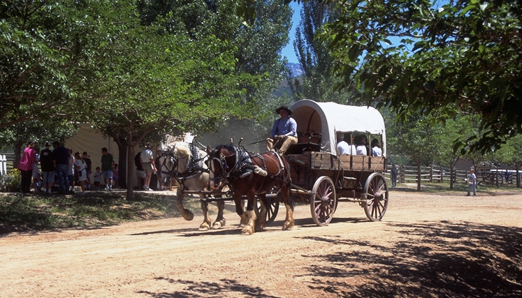 Celebrate Pioneer Day at This is the Place Heritage Park.
