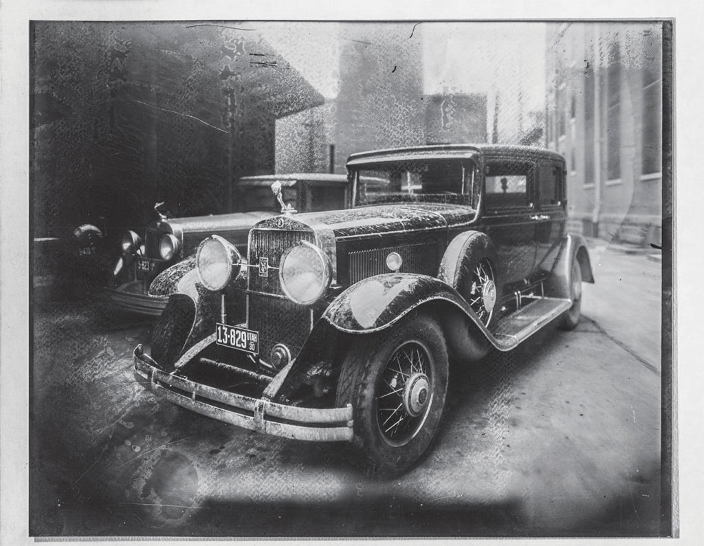 """The """"Black Dahlia,"""" the car that ran over Dorothy Dexter Moormeister."""