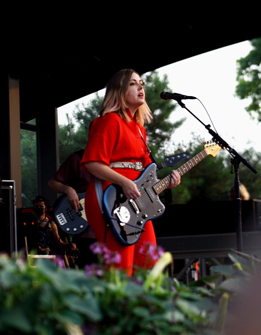 corbin of sleater-kinney at red butte
