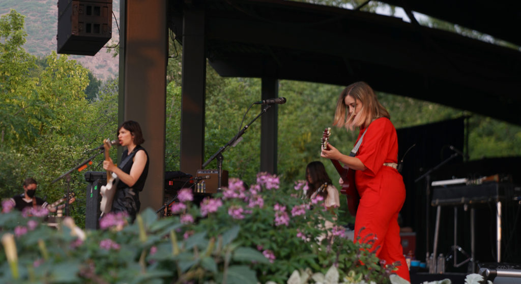sleater-kinney at red butte