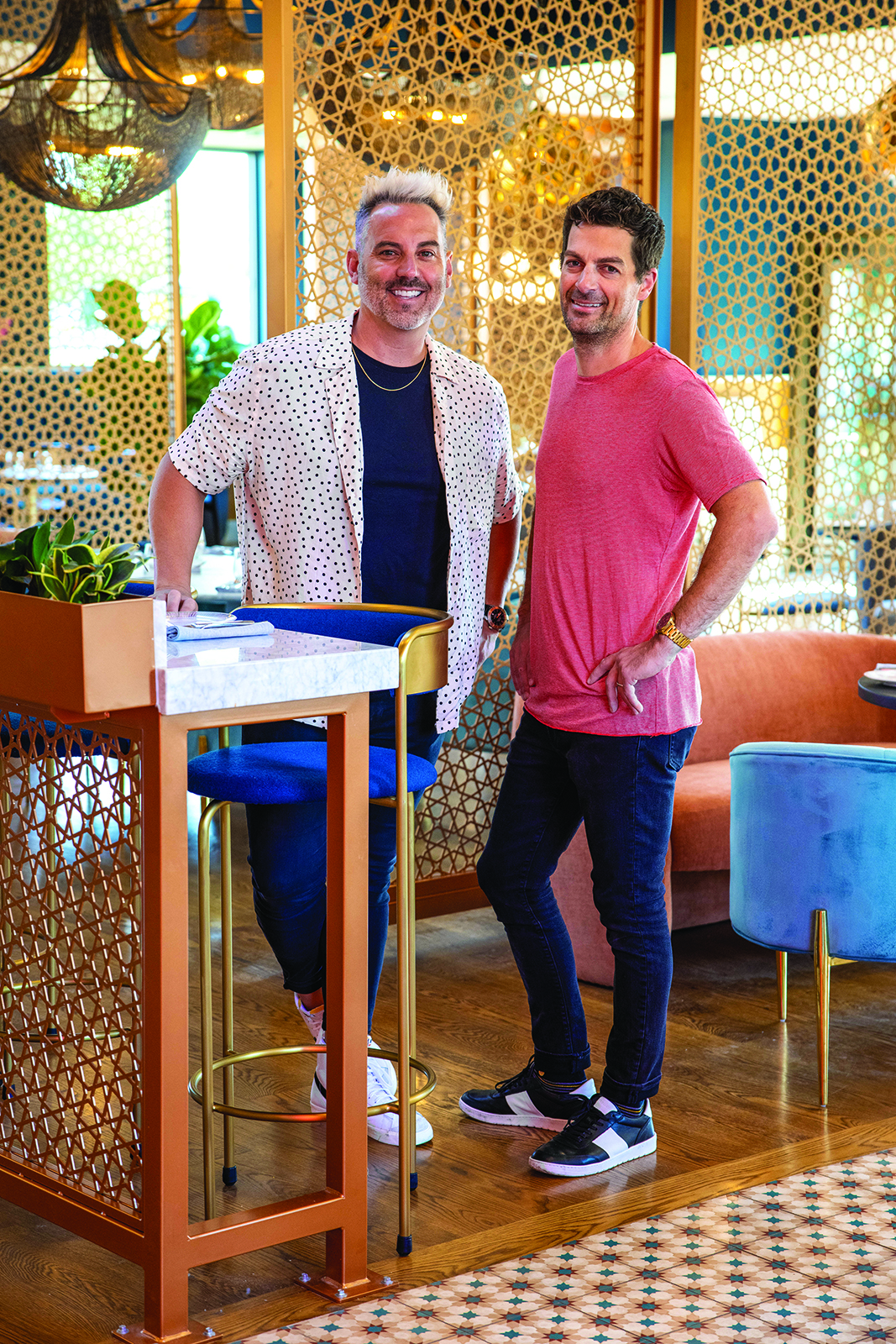 Restauranter Michael McHenry and Chef Tyler Stokes of Sunday's Best