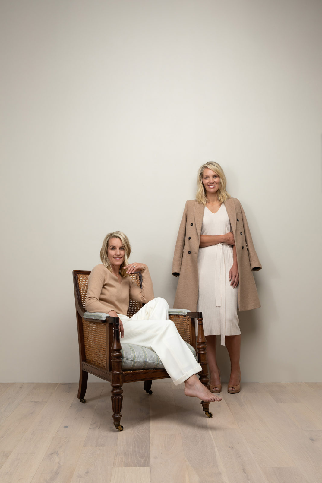 Kimberly Rasmussen and Elizabeth Wixom Johsen, founders, co-owners, and principle designers at Establish Design