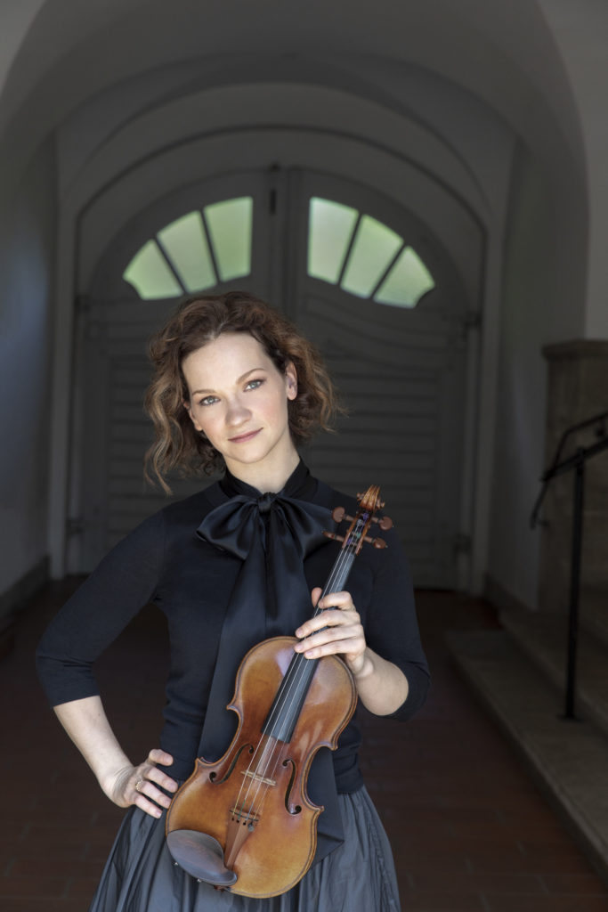 Violinist Hilary Hahn will play a benefit concert for the Haitian Orchestra Institute in Park City,  Sept. 14, 2021 (photo by Dana Van Leeuwen)