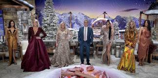 The Real Housewives of Salt Lake City cast at the Season 1 reunion