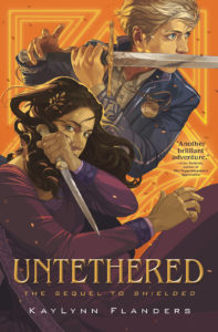 """Cover of """"Untethered"""" by KayLynn Flanders"""