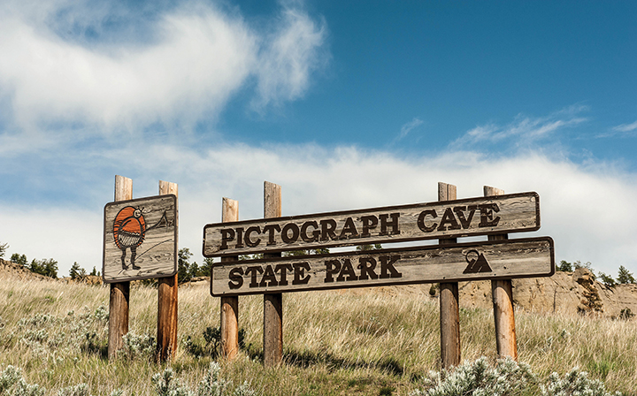 Pictograph Cave State Park. Photo by Montana Office of Tourism and Business Development.