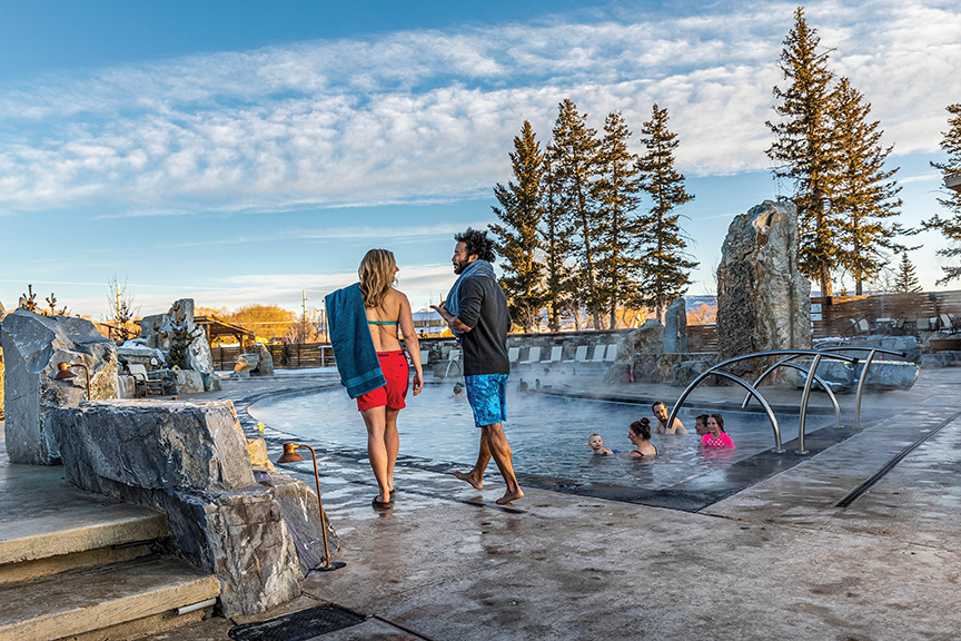 Bozeman Hot Springs photo by Montana Office of Tourism and Business Development