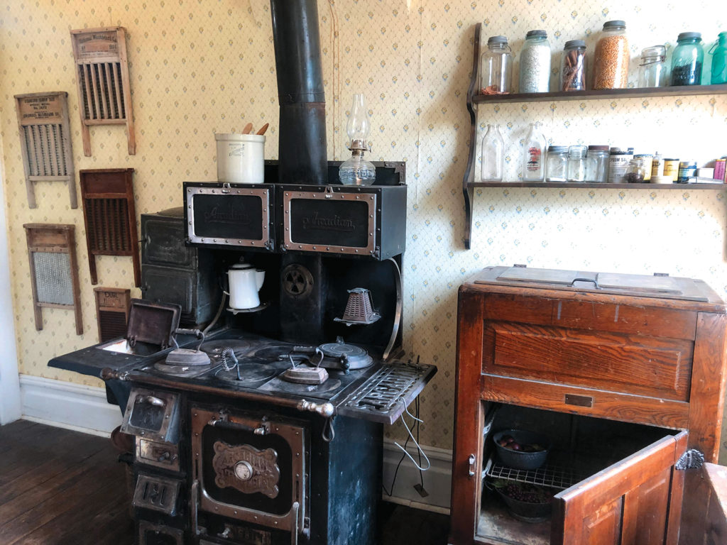Inside the Heritage House in Kanab